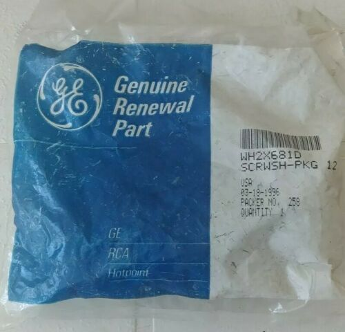 Details about  /Genuine GE WH2X681D Washer Screws Bolts Pack Of 12