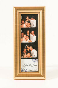 Photo Booth Frames For Photo Booth Strips 2x6 Premium Gold Frame