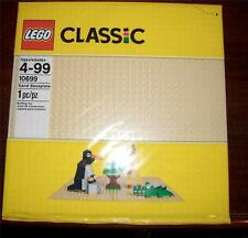 NEW in PACKAGE Lego Classic Large Sand / Tan Baseplate (10699) 32 X 32 dots