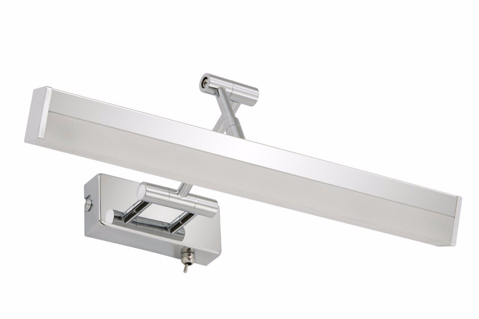 Briloner Bad Wandleuchte 1-flammig SPLASH Metall chrom 6W LED mit Kippschalter