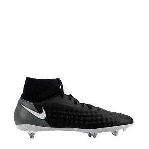 Nike Magista Onda II 2 DF SG uomo Terreno Morbido Scarpe da calcio in Nero   Bianco 6bb8393e933