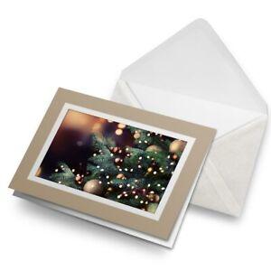 Greetings-Card-Biege-Festive-Christmas-Tree-Xmas-2860