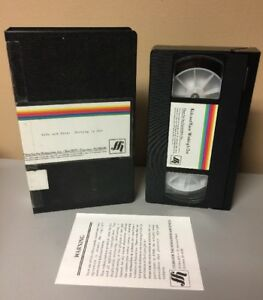 Kids-amp-Race-Working-It-Out-Films-For-Humanities-VHS-Tape-Rare-OOP-No-DVD