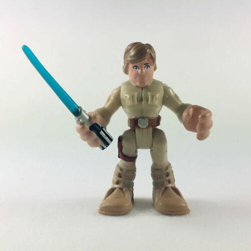 Lot of 3pcs Playskool Heroes Star Wars Galactic Heroes Yoda Luke /& Han Solo