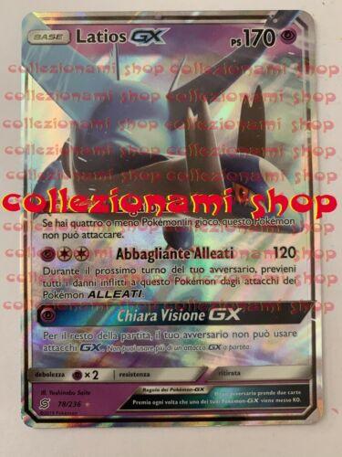 COLLEZIONAMI SHOP CARTA IN ITALIANO SINTONIA MENTALE 78//236 Latios GX
