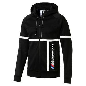 Details zu BMW M Motorsport Herren Kapuzen Sweatjacke von Puma