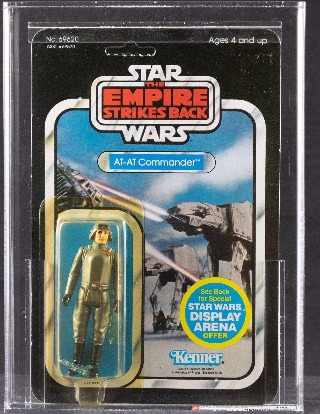 Vintage Kenner 1981 Star Wars Imperio Contraataca 45 en al comandante Figura de Acción autoridad 80Y (80 85 80)