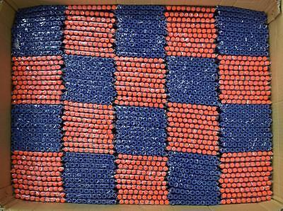 400pcs Kids Toy Gun Bullet Darts Round Head Blasters  #S For NERF N-Strike Blue