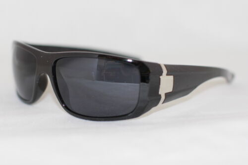 Herren Sonnenbrille Biker Brille Mens Sunglasses schwarz matt  Motorrad 582