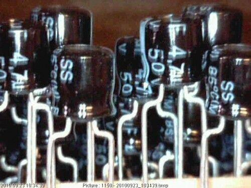25x Elko 4,7uF 50V 85° Size 5x5 LELON SS Kondensator Capacitor