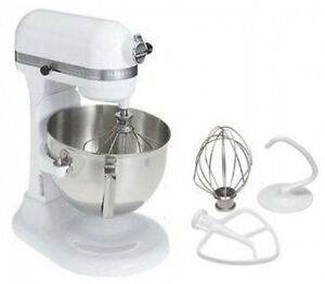 KitchenAid Heavy Duty pro 500 Stand Mixer ksm500 White New | eBay