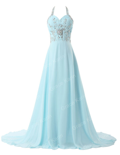 SEXY Women Homecoming Evening Pageant Prom Formal Wedding Bridesmaids Gown Dress