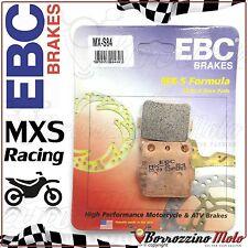 PASTIGLIE FRENO ANTERIORE RACING EBC MX-S 84 YAMAHA YFM GRIZZLY 4x4 600 2000