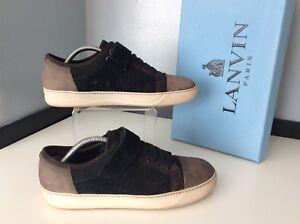 Eu41Suedeamp; Mens Lanvin 7 SneakersUk LeatherTrainersGcEbay 9D2EHI
