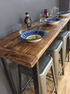 Breakfast Bar Table Bistro Table Made Bar Table