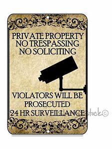 Private-Property-No-Trespassing-No-Soliciting-Video-Surveillance-Sign-8-x-12
