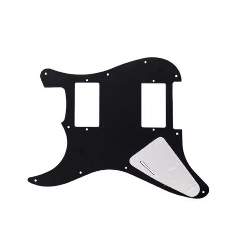 11 Löcher HSS Pickguard Schlagbrett Scratchplate für ST E-Gitarre 3 lagig,