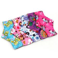 5Pc Reusable Charcoal Bamboo Panty Liner Washable Menstrual Pads Mama Cloth