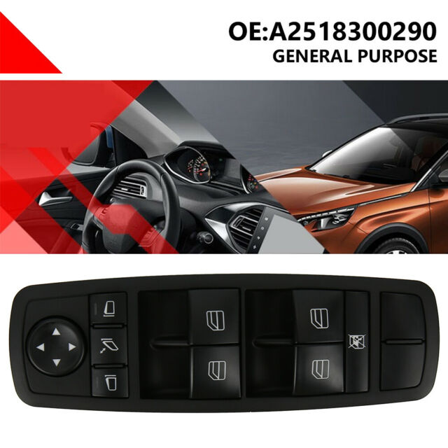 Electric Window Main Control Switch Console for Mercedes ML Series    UK Seller