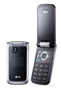 Lg Gb220 Flip Mannequin Mobile Téléphone Portable Affichage Jouet Faux Replica-afficher Le Titre D'origine Valeur Formidable