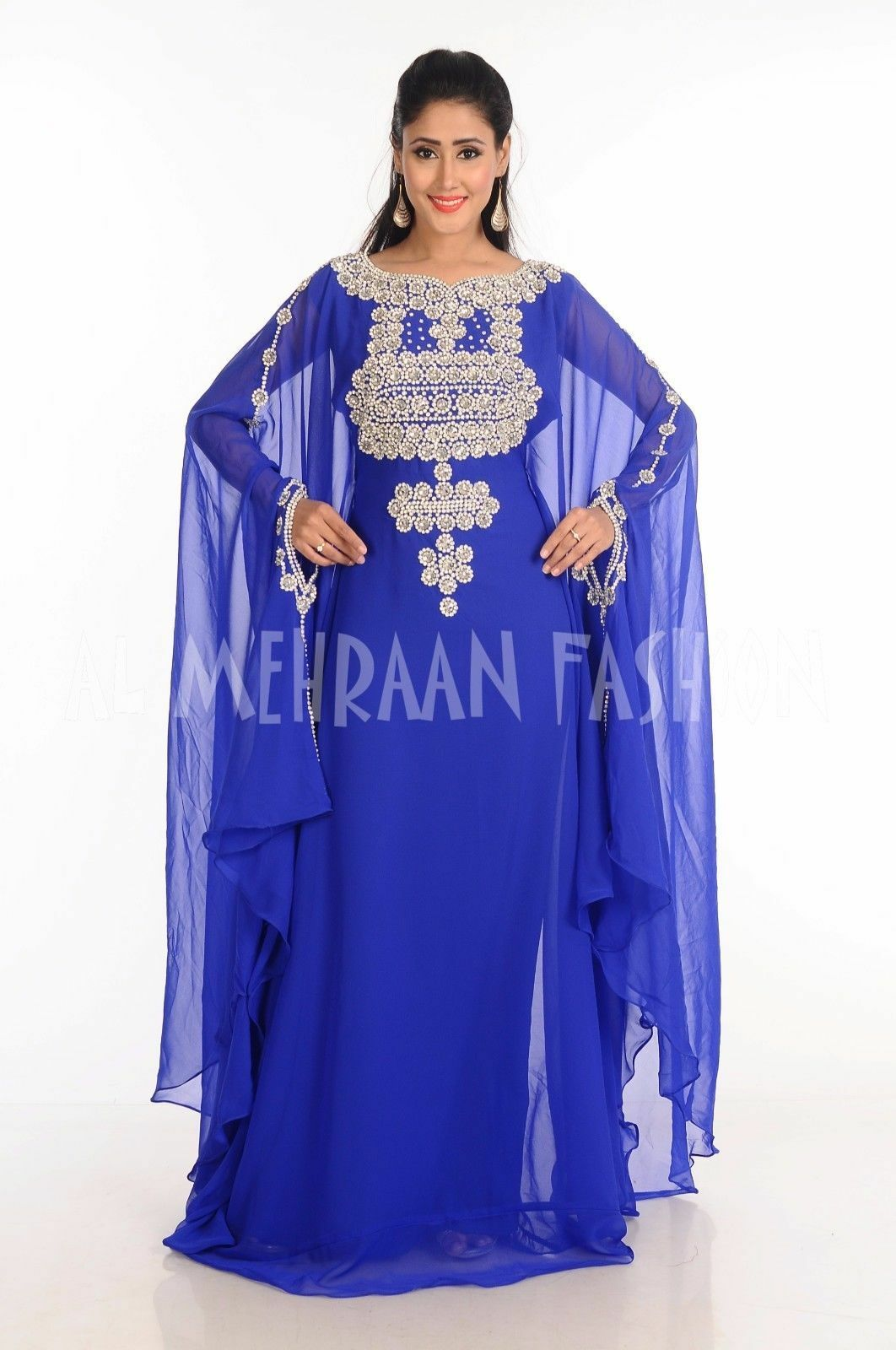 WEDDING CHEAP FARASHA FANCY DUBAI KAFTAN ARBIAN ISLAMIC GEORGTTE DRESS 179