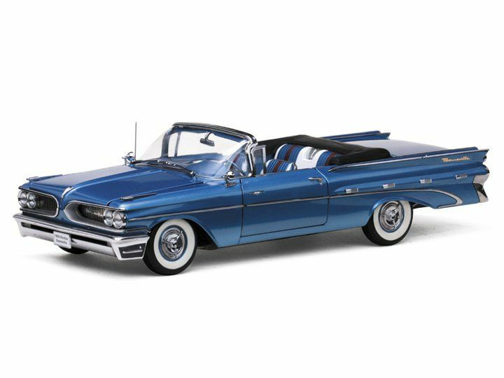 1959 pontiac bonneville vanguard blaue 1,18 sunstar 5181