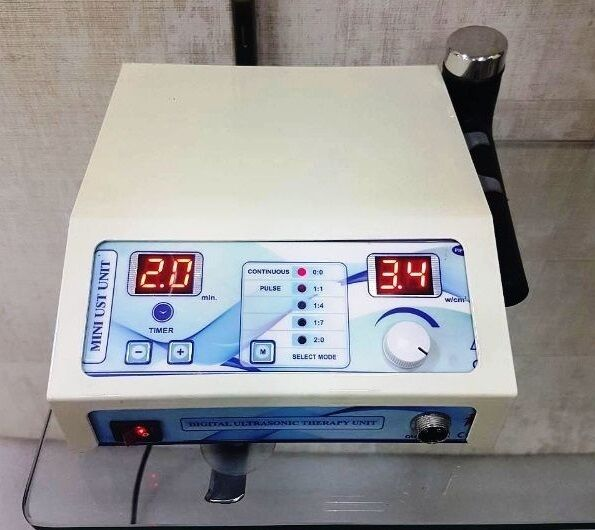 Ultrasound Therapy Unit 1Mhz Pain Relief Ultrasonic Therapy Compact Delta D7