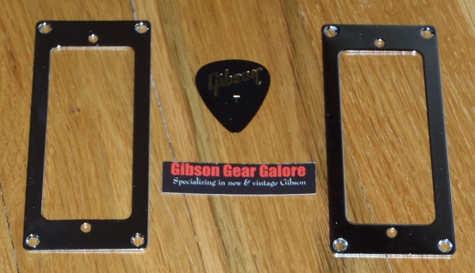 Gibson Firebird Pickup Ring Cover Set Chrome HP Mini Humbucker Guitar Parts T