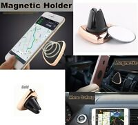 Smart Magnetic Car Air Vent Holder Mount 360 Rotation for Various Mobile Phones