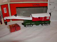 Lionel 6-82693 Santa's Helper Crane Car O 027 2015 North Pole Central