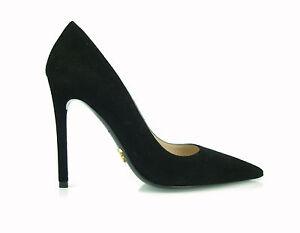 b688e38caefe0 Details about £500 PRADA SHOES women'sDecolté stiletto hells Pumps fashion  luxury 100% AUTH uk