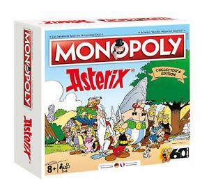 Monopoly-Asterix-und-Obelix-limitierte-Collector-039-s-Edition-deutsch-franzoesisch