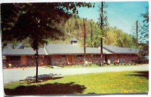Vintage Advertising Postcard - TIDEWAY MOTEL & RESTAURANT
