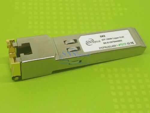 SNS SFP+10GBASE-T  Transceiver Copper RJ45 Transceiver Module 30-Meter