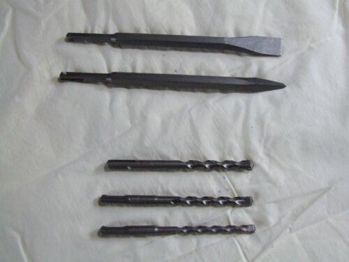 SDS Masonary drill bits and chisel bits