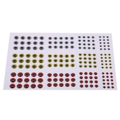 500PCS 3-6mm Fish Eyes 3D Holographic Lure Eyes Fly Tying Jigs Crafts Dolls p Lp