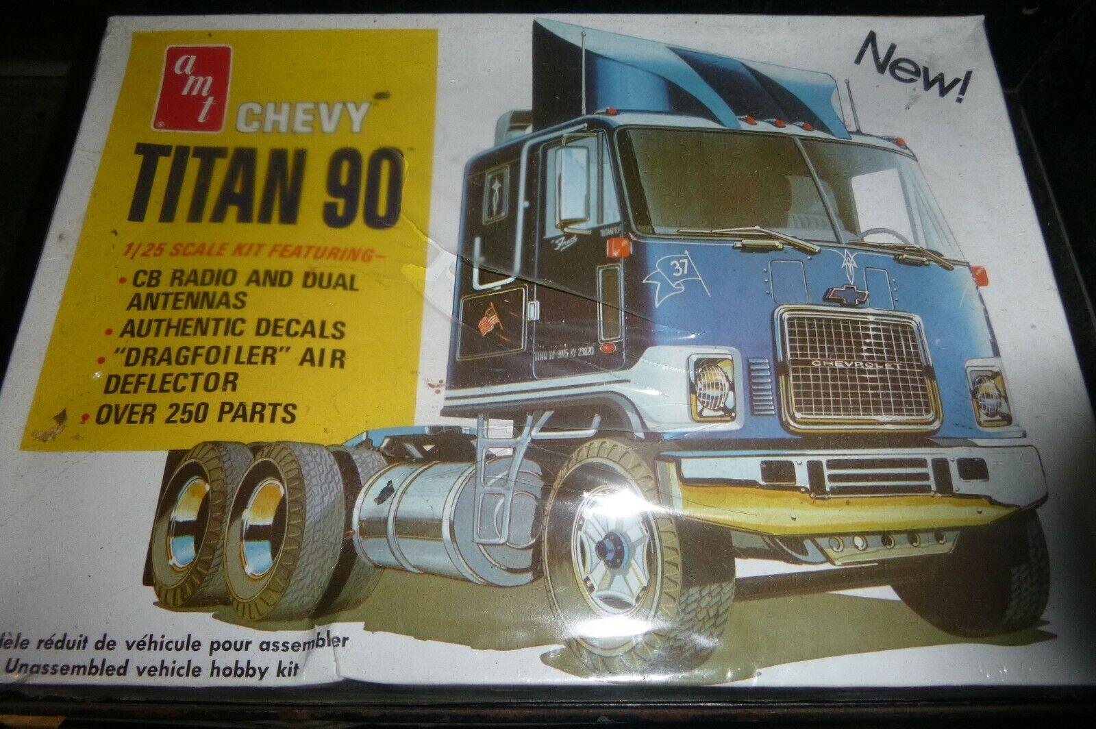 Amt 603 Chevy Titan 90 Modeljahren Truck 1 25 Modelauto Mountain FS