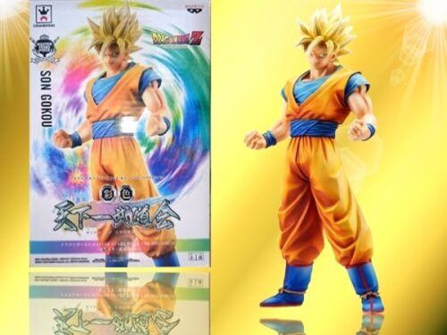 Dragon Ball DBZ Super Saiyan Goku MSP Master Stars Piece Banpresto figure Japan