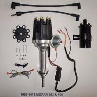 Small Cap Big Block Mopar 59-78 383 400 Pro Series Hei Distributor + 45k Coil