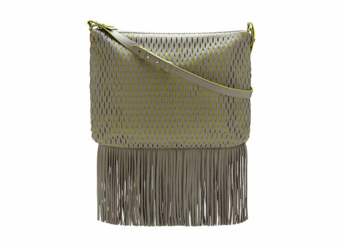 Cross Fringe Body MalikPerforated Bottom Nwt Msrp248 Vince Bag Camuto qzGMpLVSU