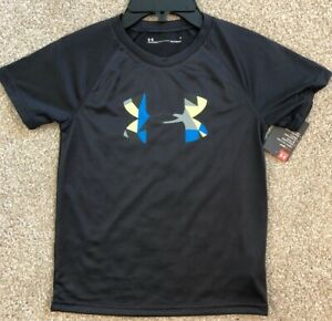 NWT-Under-Armour-Heatgear-Boys-Youth-Sz-6-Shirt-Athletic-Wear