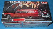 JoHan  Cadillac Fire Rescue Ambulance-GC-500 1/25 Kit FS Box Model Car Swap Meet