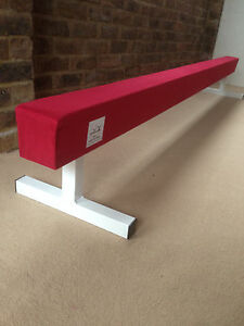 finest-quality-gymnastics-gym-balance-beam-6FT-long-12-034-high-choice-of-colours
