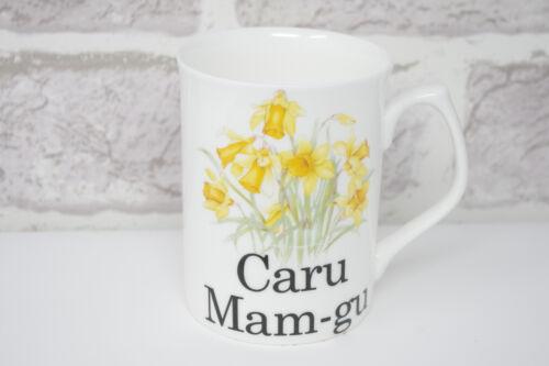 Caru MAM GU Mug 3034 Bone China Tea Café Gallois Love Maman Daffodil Fête Mères