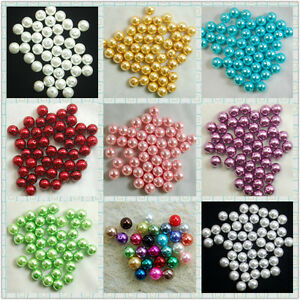 100Pcs-Top-Quality-Czech-Glass-Pearl-Round-Loose-Spacer-Beads-3-4-6-8-10-12mm