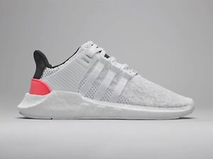 new concept 33b2a 445f9 Image is loading Adidas-EQT-SUPPORT-93-17-Core-White-Turbo-