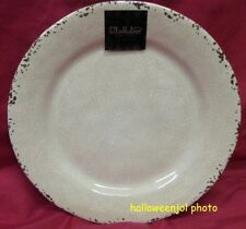 IL MULINO Rustic Beige Melamine Salad Plates Set of 4 | eBay