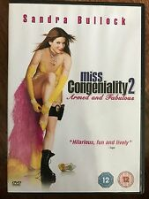 Sandra Bullock MISS CONGENIALITY 2: Armed and Fabulous ~ 2005 Comedy Sequel DVD
