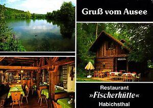 """Gruß vom Ausee , Rest. """"Fischerhütte"""" , Ansichtskarte, 2004 gelaufen - Rostock, Deutschland - Gruß vom Ausee , Rest. """"Fischerhütte"""" , Ansichtskarte, 2004 gelaufen - Rostock, Deutschland"""