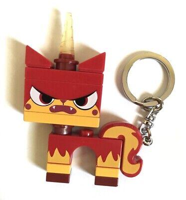 LEGO MOVIE Angry Kitty Plastic Figure Key Ring - Unicorn ...